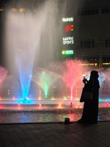 KLCC fountain light show